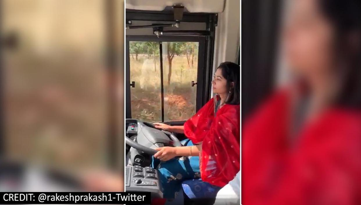 Former IAS officer takes bus for test drive to encourage ...