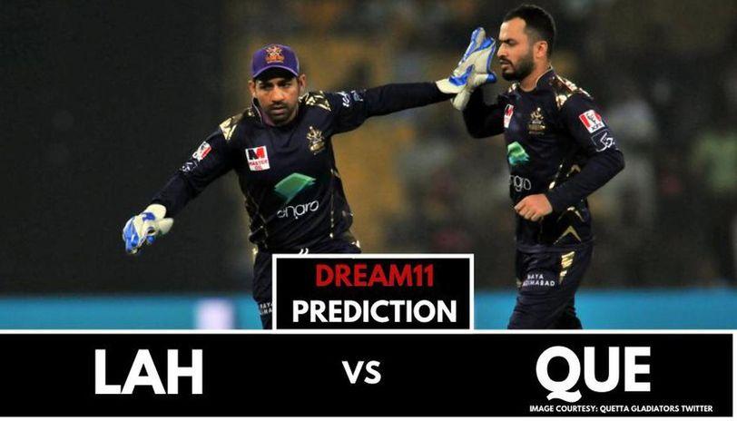 LAH vs QUE dream11 prediction