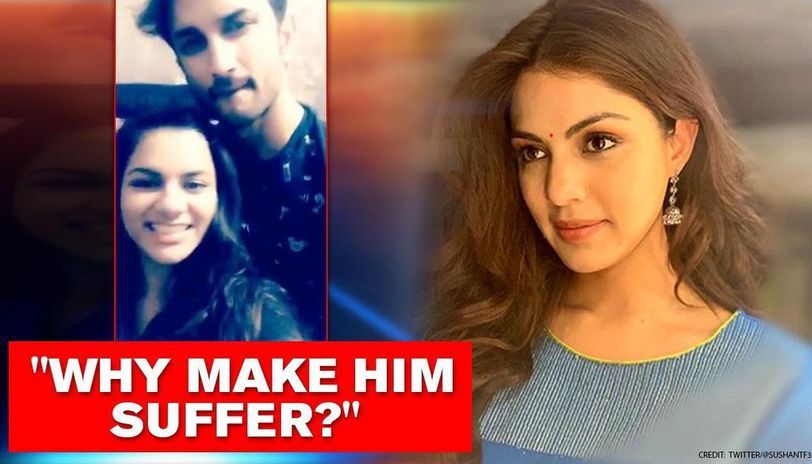 Sushant Singh Rajput's niece reacts on Rhea's drugs link, says 'it's difficult to breathe'
