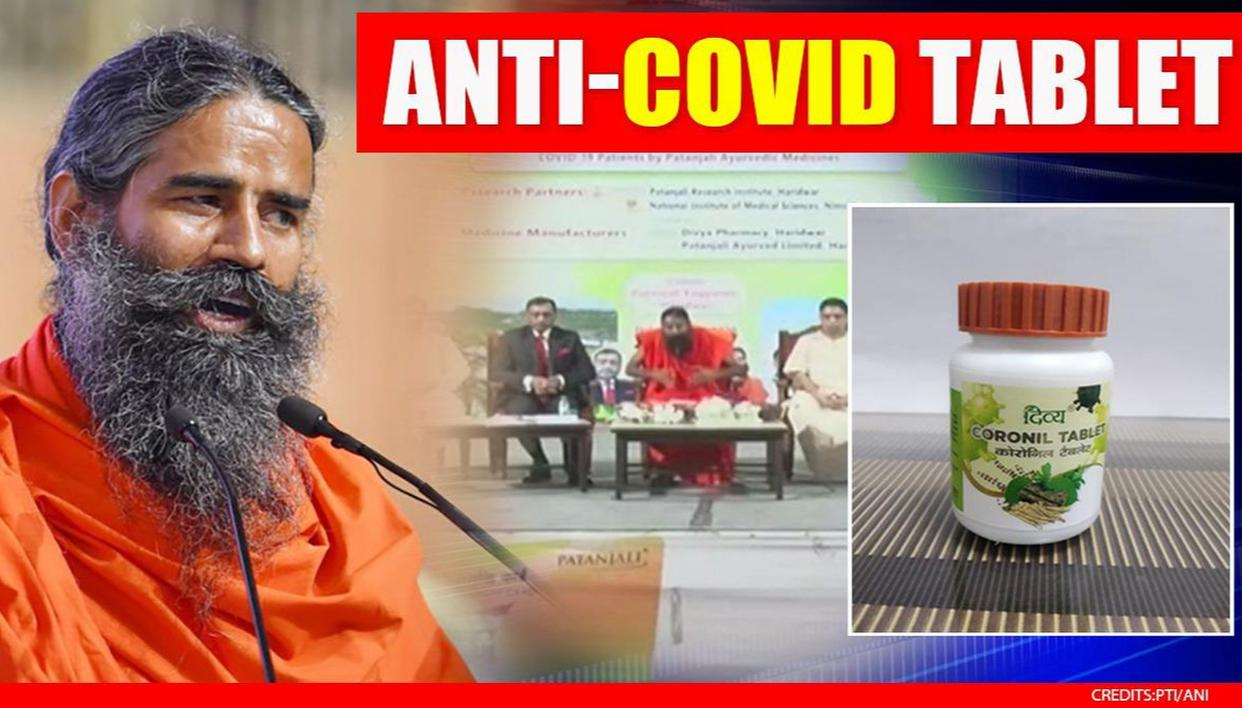 Ramdev's Patanjali launches 'Coronil' anti-Covid tablets; '3-15 days cure; no mortality' – Republic World