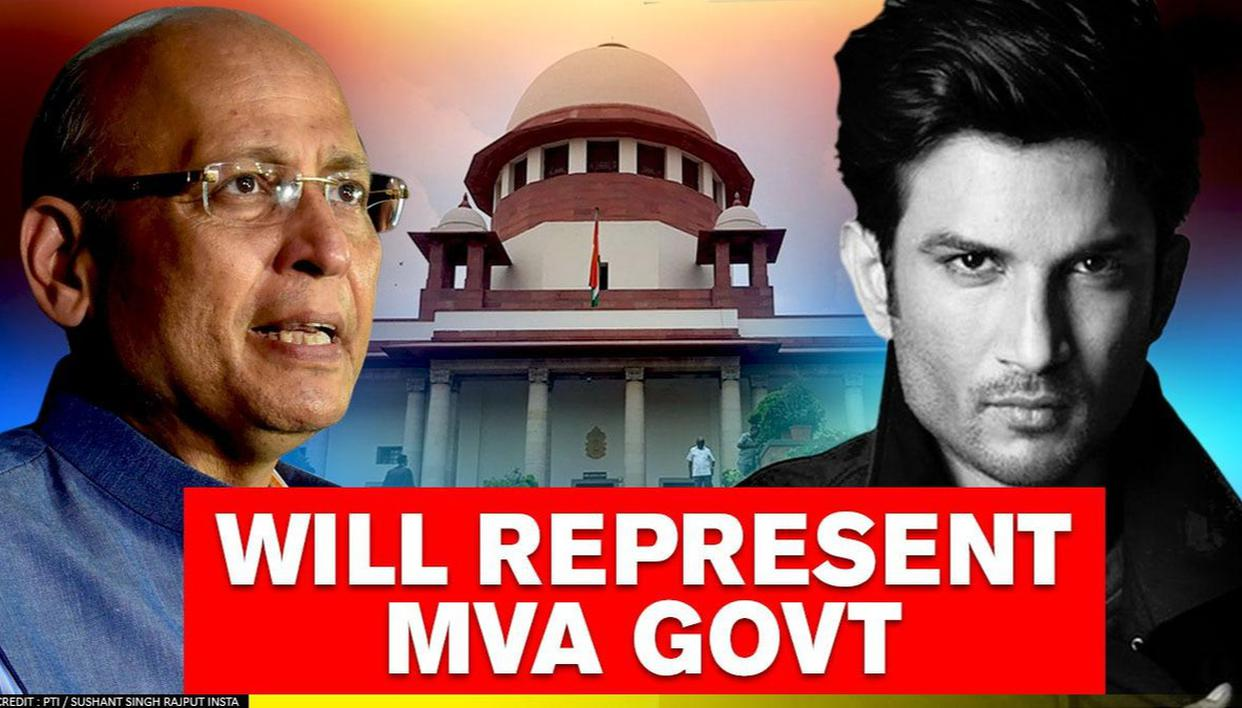 Abhishek Manu Singhvi to represent Maha govt in SC hearing on Rhea's plea in Sushant case - Republic World