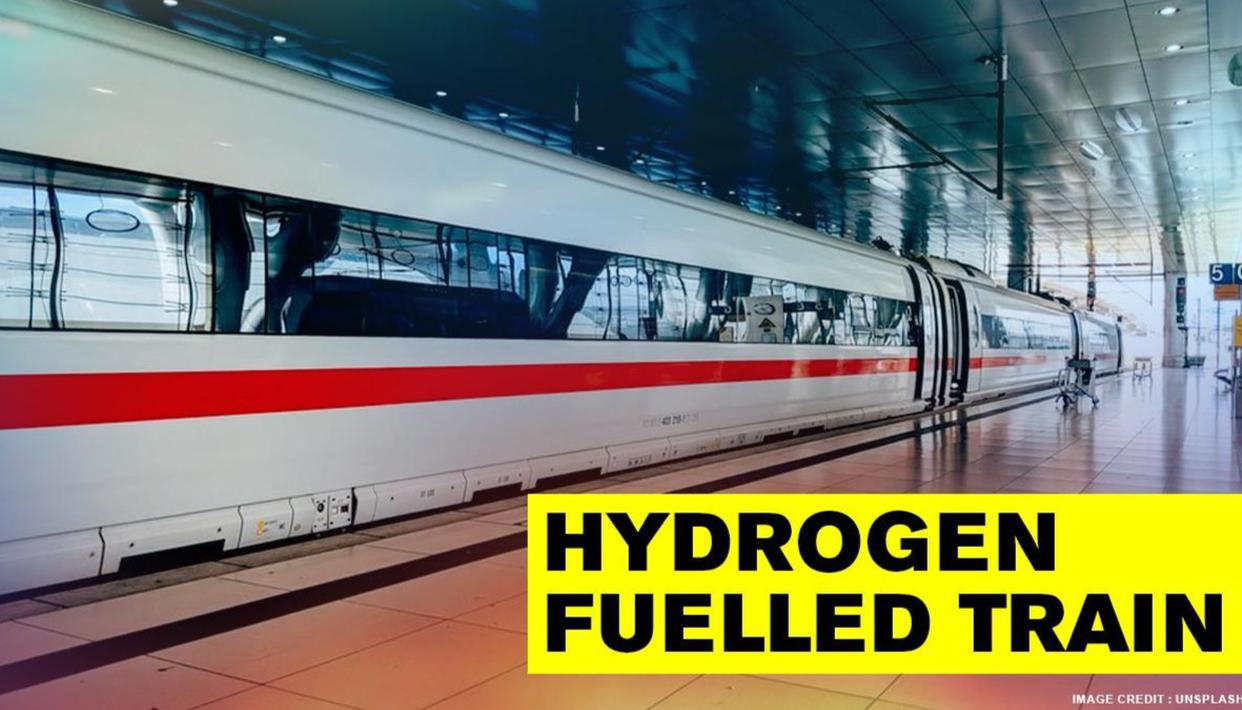 UK begins trial for first ever hydrogen-powered train to make rail travel greener