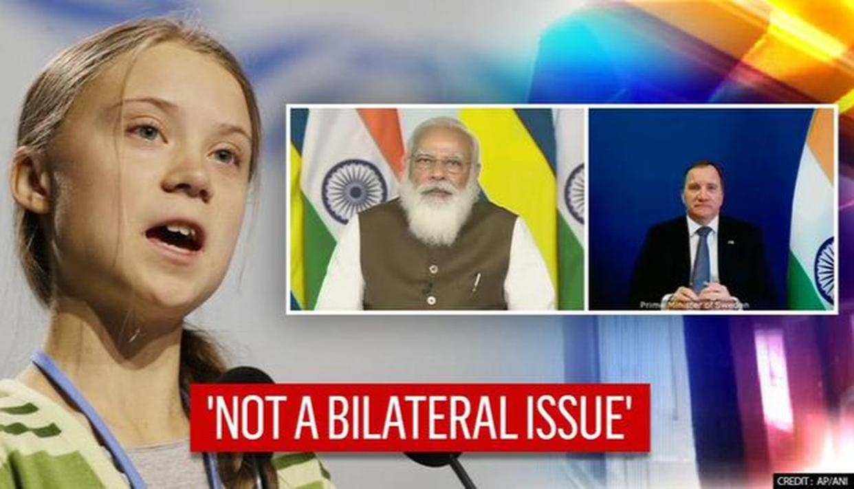 Greta Thunberg's comments on farm stir not a bilateral issue between India & Sweden: MEA