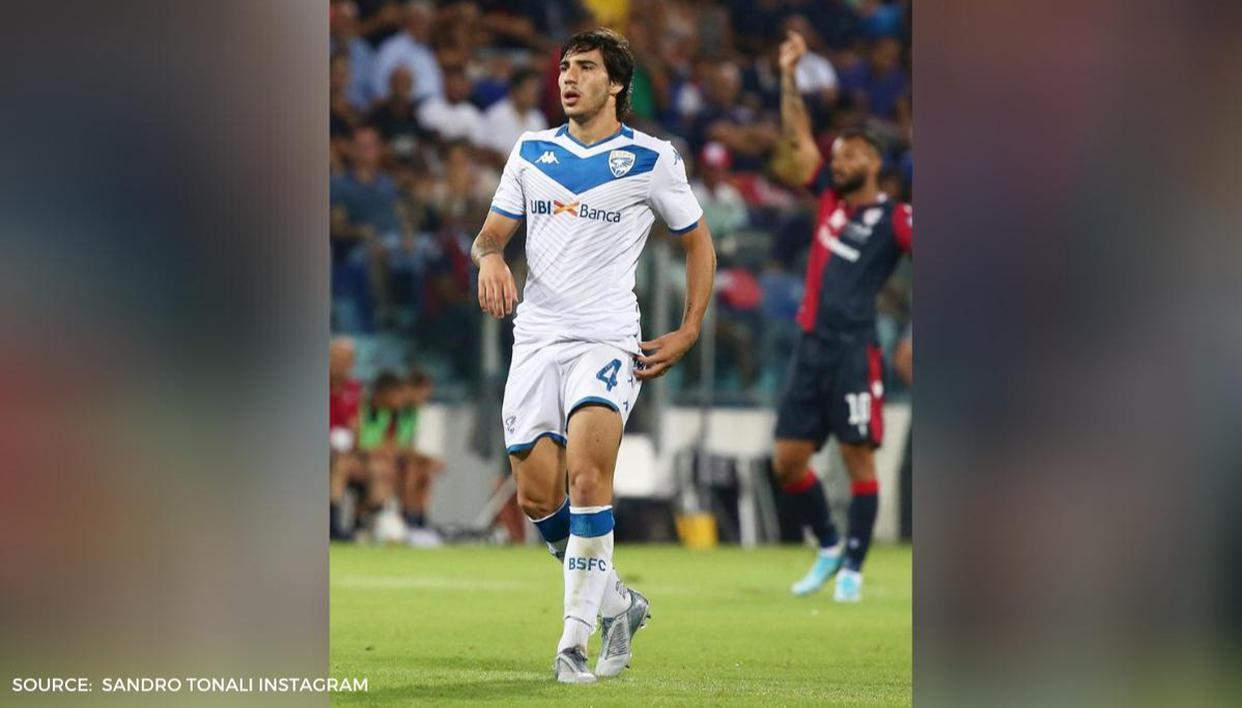 Who is Sandro Tonali? Italian youngster nears AC Milan ...