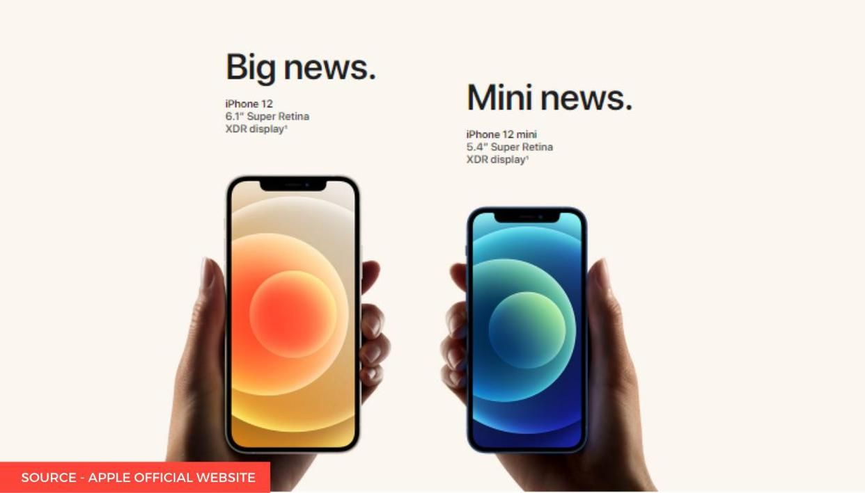 iPhone 12 Mini size comparison: How small is the latest ...