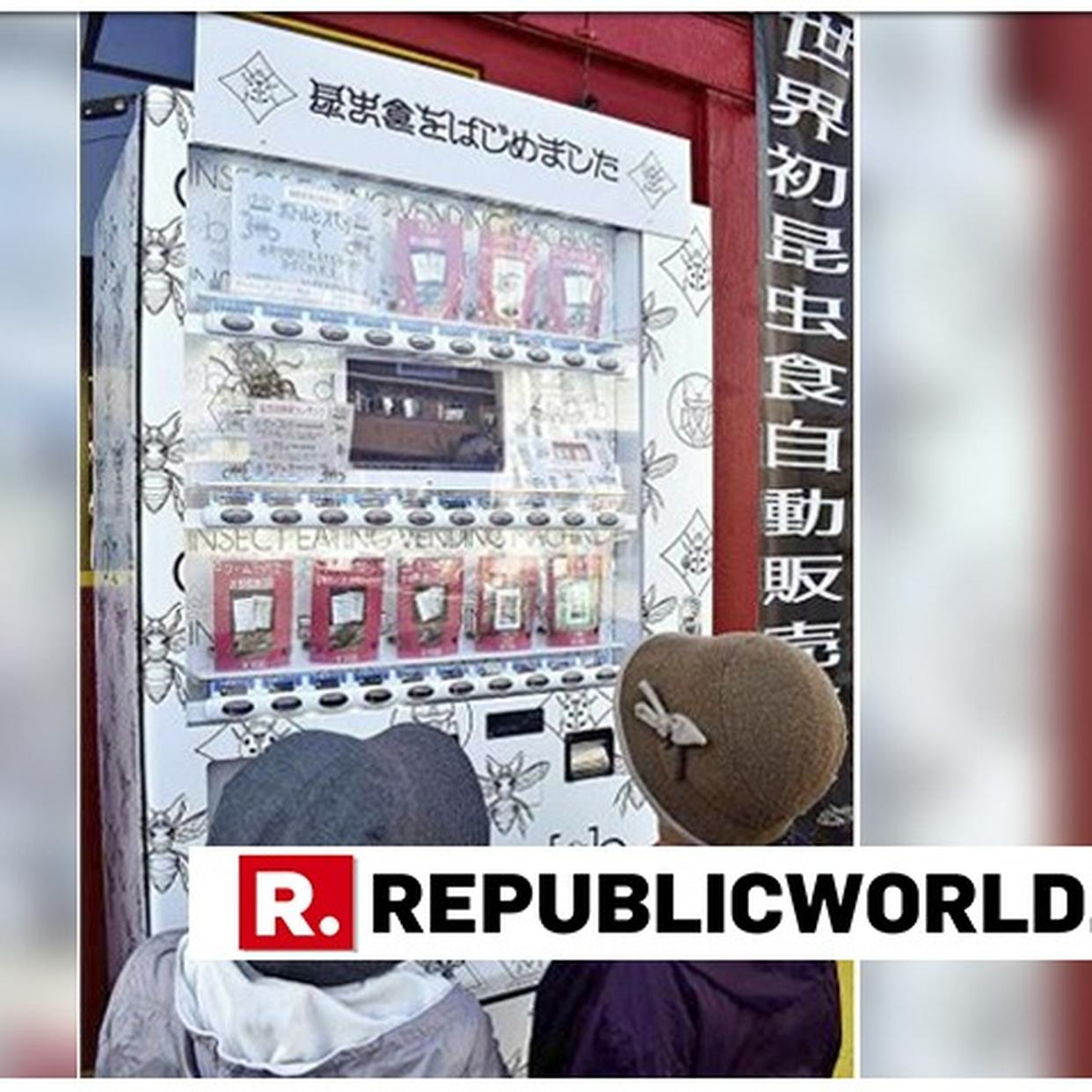 From Cricket Protein Bars To Tarantulas Vending Machine In Japan Sells Bugs Here Are More Eccentric Vending Machines From Around The World Republic World