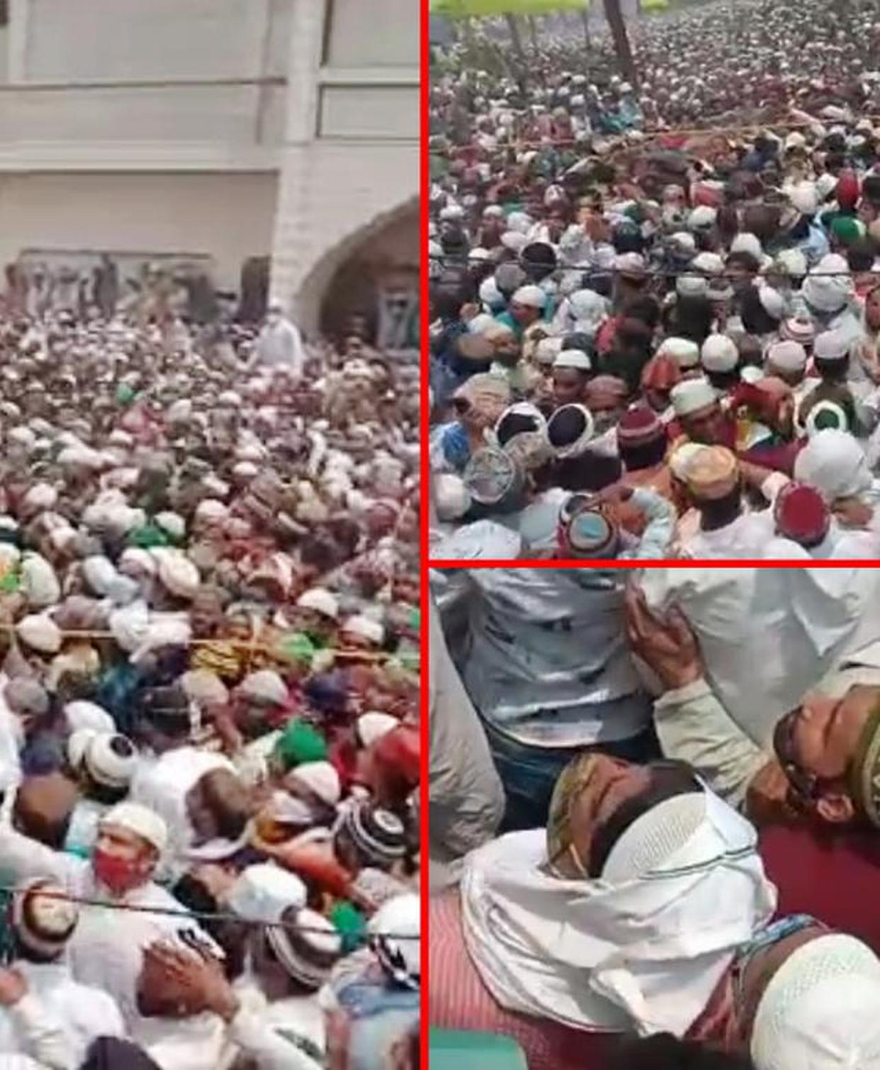 COVID-19: Lakhs gather for funeral procession in UP violating curbs, FIR  registered